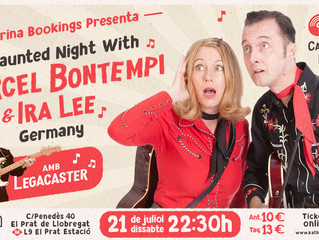A Haunted Night With... Marcel Bontempi & Ira Lee + Legacaster