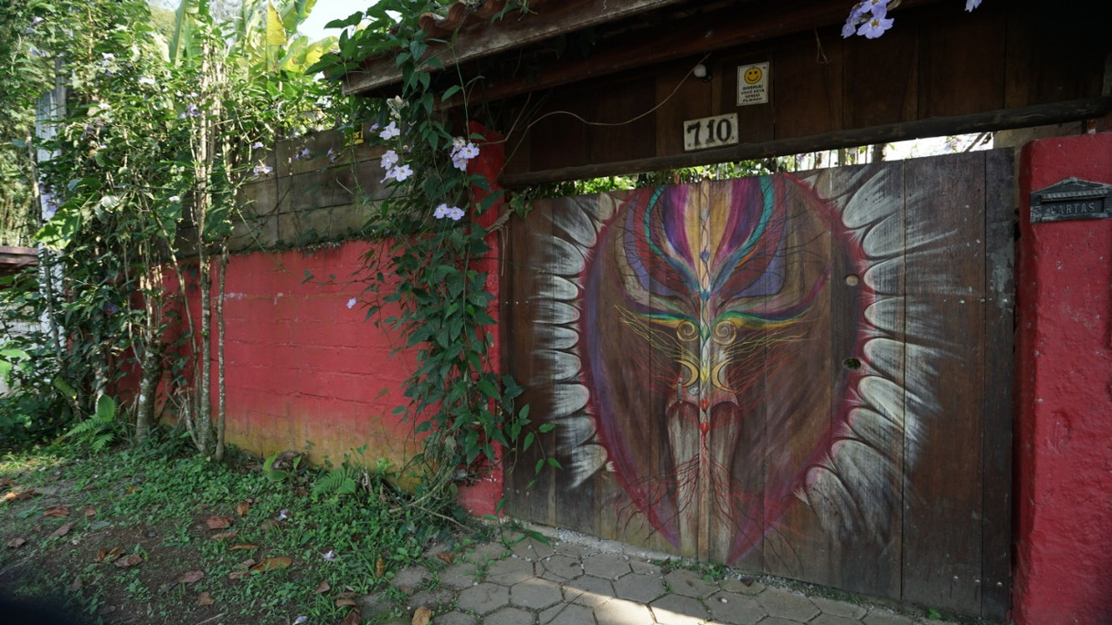 portão da casa