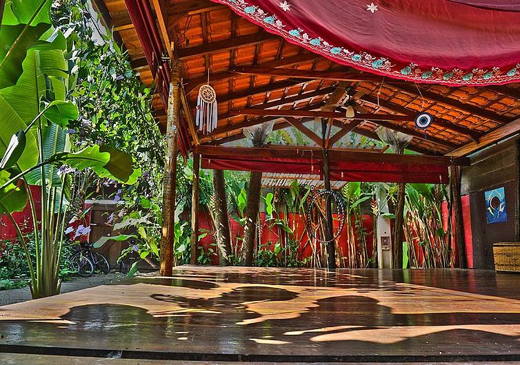 salão de yoga