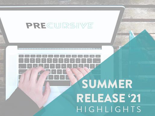 PRECURSIVE SUMMER RELEASE '21