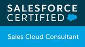 Salesforce Sales Cloud Consultant Certificate