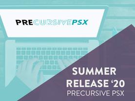 PRECURSIVE PSX SUMMER RELEASE '20