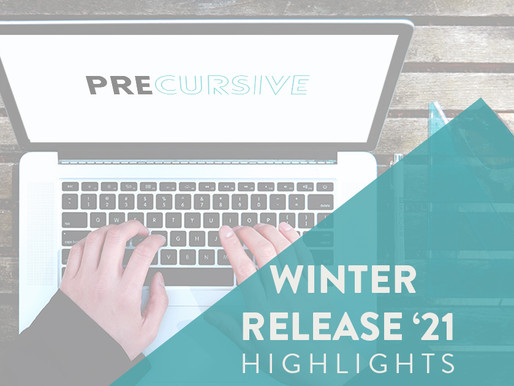 PRECURSIVE WINTER RELEASE '21