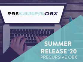 PRECURSIVE OBX SUMMER RELEASE '20