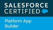Platform App Builder Certificate