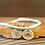 Thumbnail: Armband mit 2 Anhängern