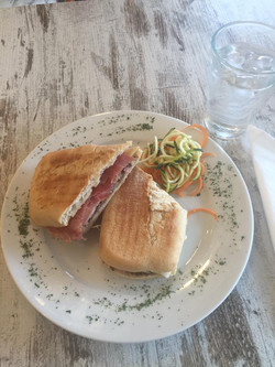 La Follia panini for lunch