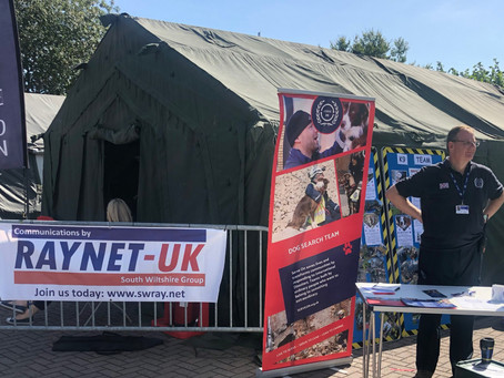 Busy Weekend for South Wilts RAYNET UK