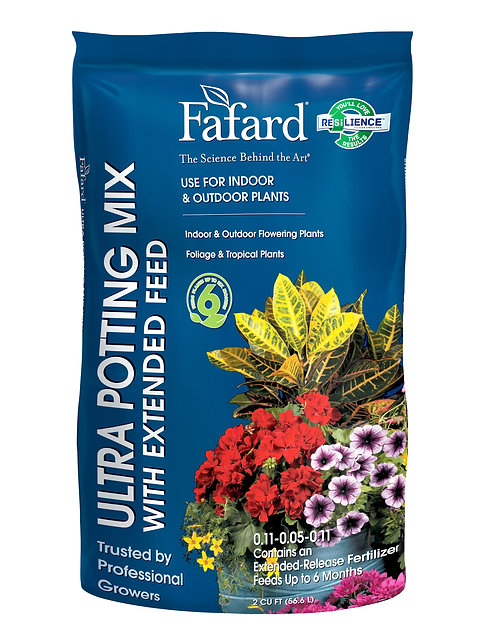 Fafard® Ultra Potting Mix with Extended Feed