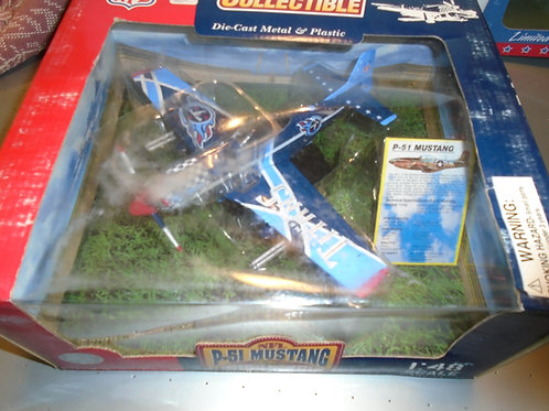 2003 Tennessee Titans P-51 Airplane