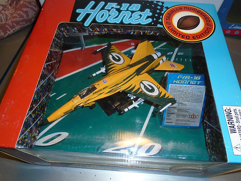 2004 Green Bay Packers F-18 Airplane