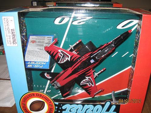 2004 Atlanta Falcons F-18 Airplane
