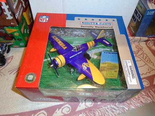 2002 Minnesota Vikings P-47 Airplane
