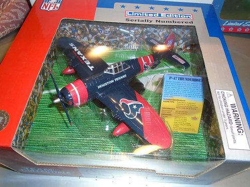2002 Houston Texans P-47 Airplane