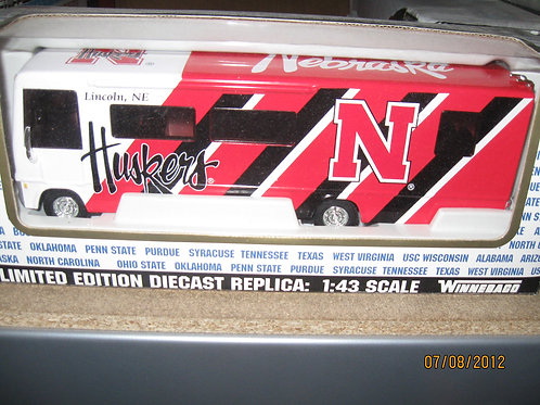 2001 Nebraska Huskers Winnebago