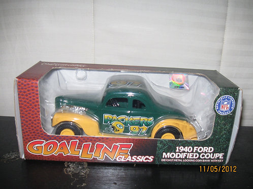 1997 Green Bay Packers ERTL 1940 Ford Coupe