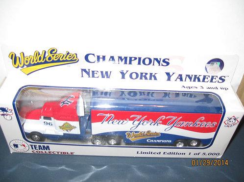 1996 New York Yankees World Series Tractor Trailer