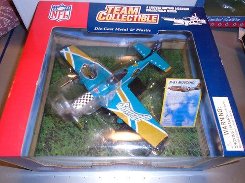 2003 Jacksonville Jaguars P-51 Airplane