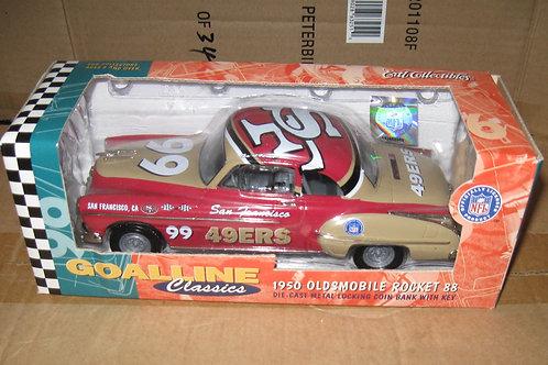 1999 San Francisco 49ers 1950 Oldsmobile Rocket
