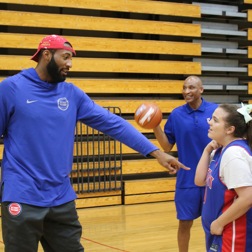 Andre Drummond remembers a young athlete from years prior