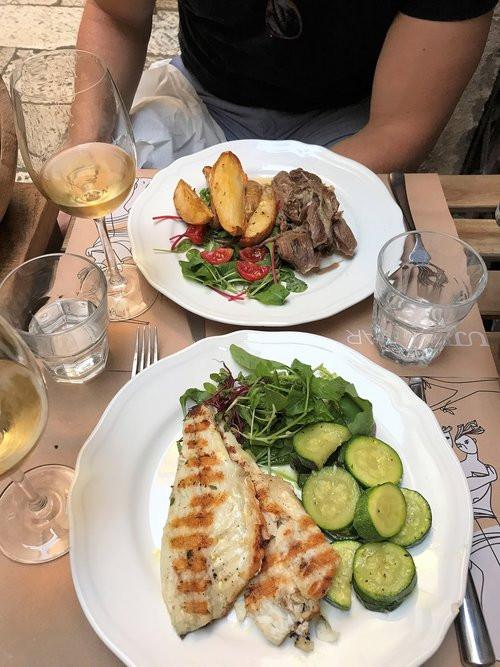 Dinner at Uje Wine/Oil Bar