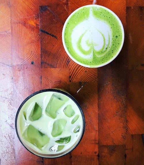Elixr Hot & Cold Matcha Lattes
