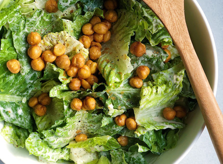 Egg-Free (& easily vegan) Caesar Salad Dressing