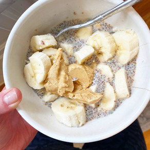 The Easiest Chia Flax Seed Pudding