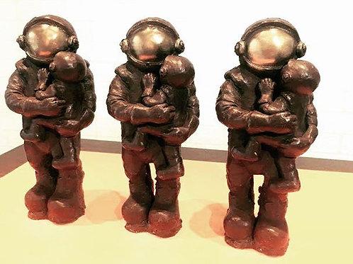 Unconditionally - chocolate sculpture