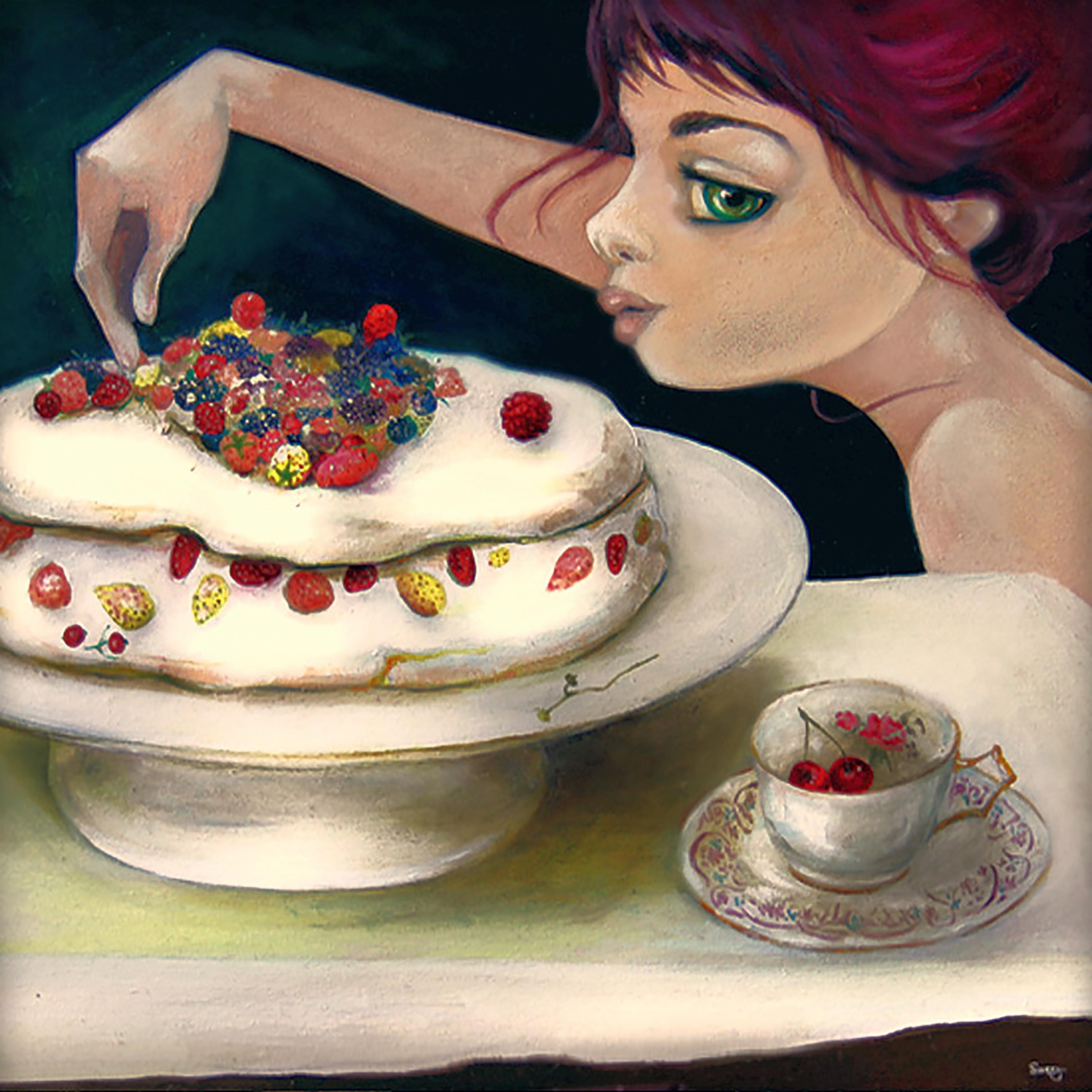 Cœur de fraise sauvage