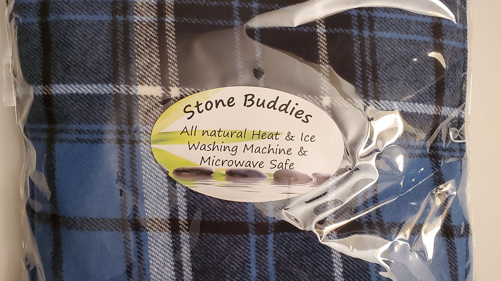 Blue Plaid Stone Buddy