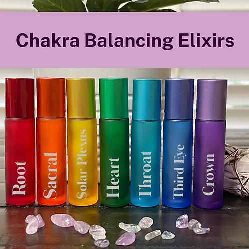 Chakra Balancing Elixirs (Set of7)