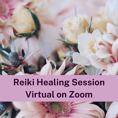 Reiki Healing Session on Zoom