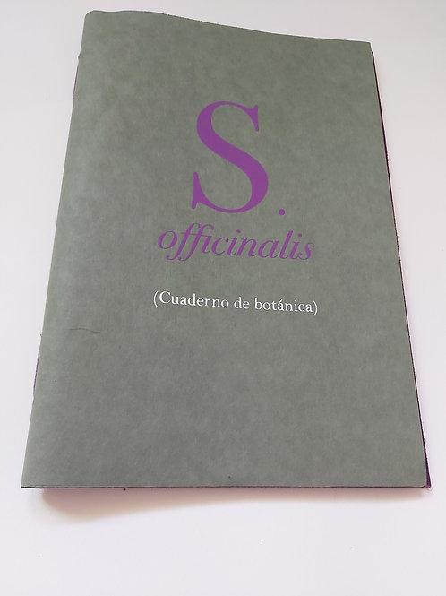 S. Officinalis (cuaderno de botánica)