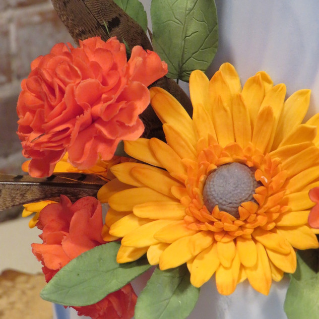 Gerberas and carnations