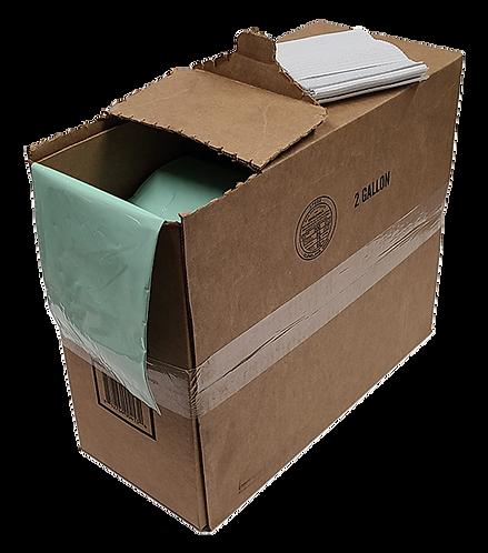 2 Gallon, 400 Count Box, Institutional Bulk box