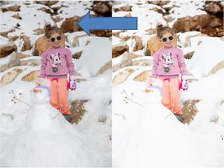 צילום בחורף