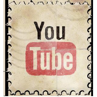 YouTube Vintage Stamp