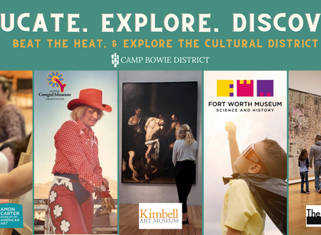 Beat the Heat & Explore the Cultural District