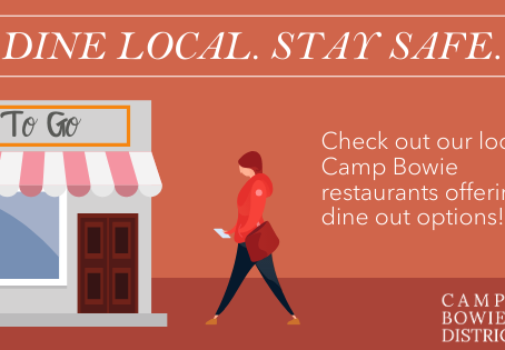 Stay Safe. Dine Local on The Boulevard
