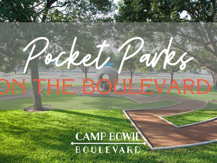 Pocket Parks On The Boulevard