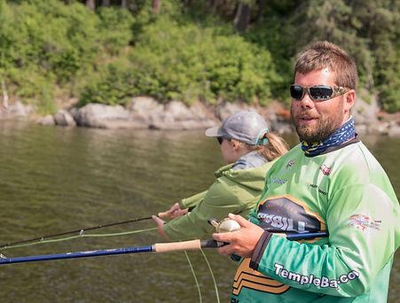 Matt Ciccone on Eagle Lake guiding in Ontario
