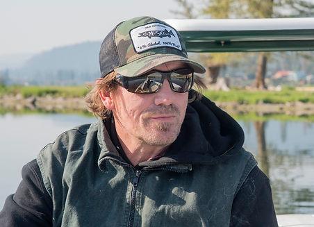Dave Dana of Warm Water Rambler on Curlew Lake in Washington State