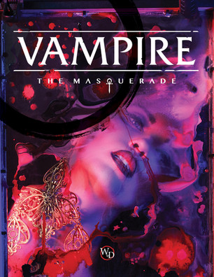 Vampire The Masquerade 5th Edition is in!