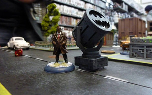 Batman Miniatures Game Event