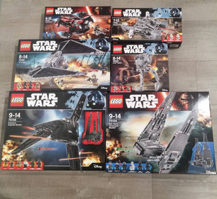 Star Wars Lego now in stock!!