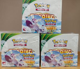 Pokemon Roaring Skies is back in stock!