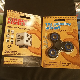 Finger Fidget and Spinning Widget