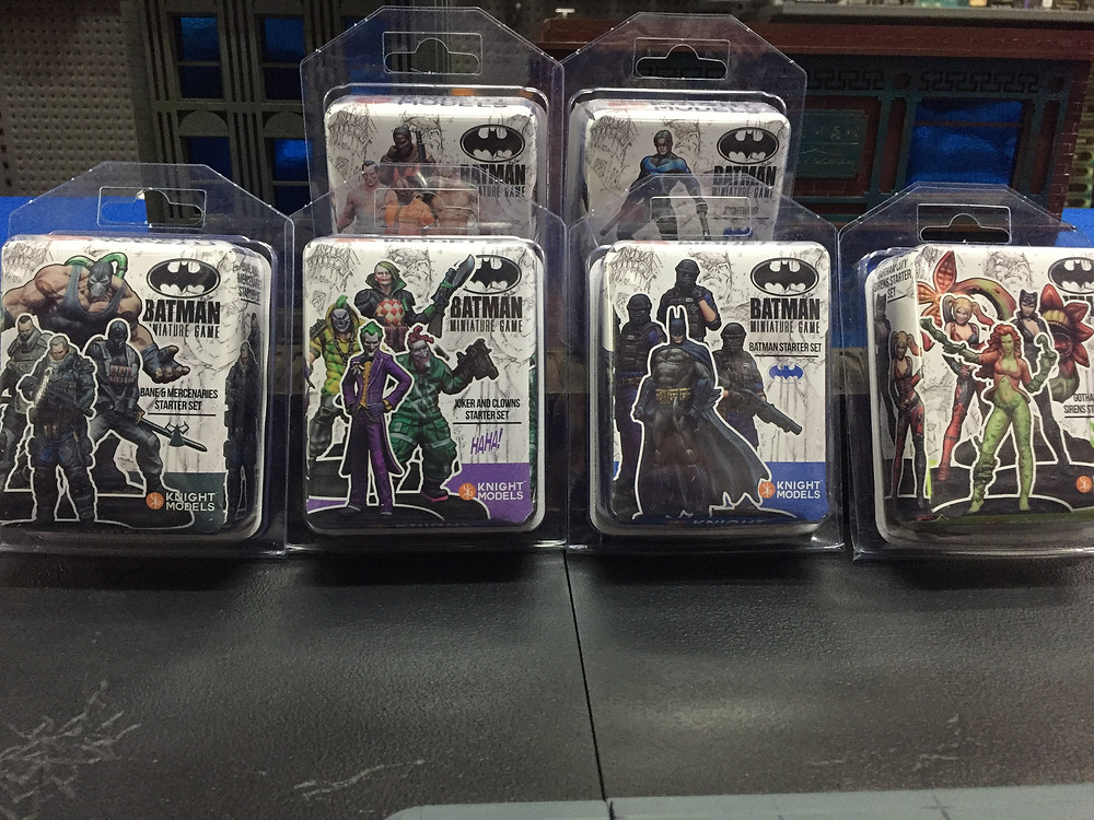 The streets of Gotham are bad enough but now we have new releases to deal with! 2nd edition plastic models are now available.