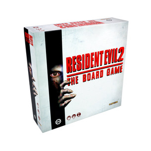 Fight off Zombie Apocalypse in Resident Evil 2 : The Board Game!